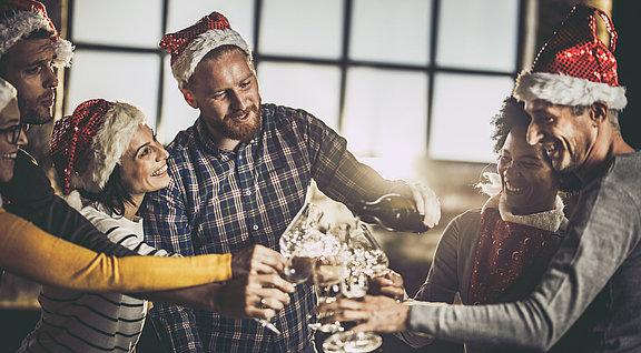 Weihnachtsgeschenke stärken die Partnerschaft